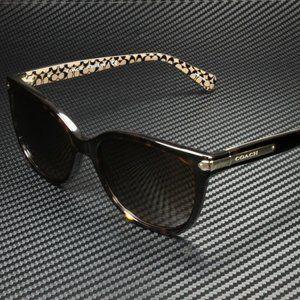 COACH Brown 57mm Sunglasses